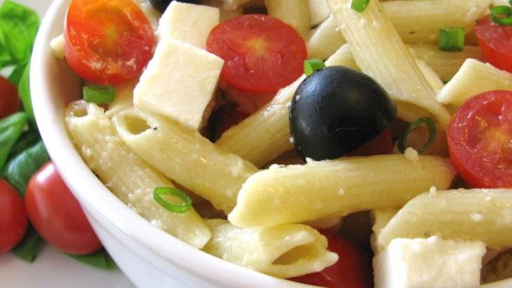Photo of Penne, Tomato, and Mozzarella Salad by MARBALET