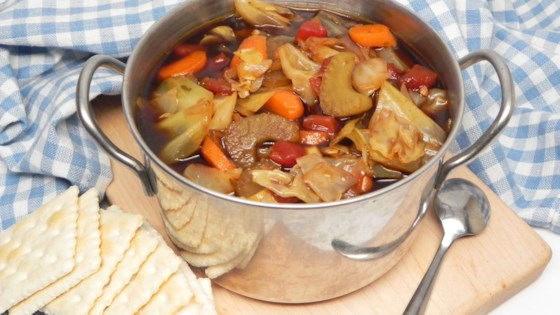 meatless cajun cabbage soup review by michele fregoe knapp