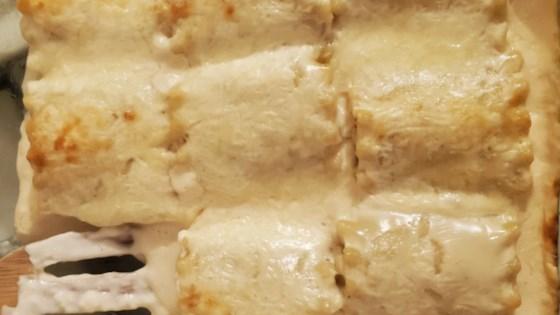 rotisserie chicken lasagna roll ups review by diandra marshall