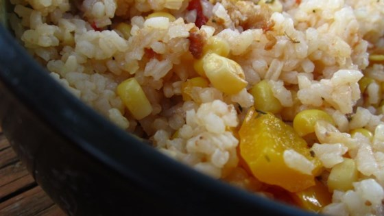 Photo of Corn and Rice by Kristal