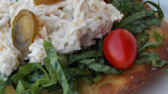 Photo of Twisted Chicken Salad with Tostadas by LISATEACHER