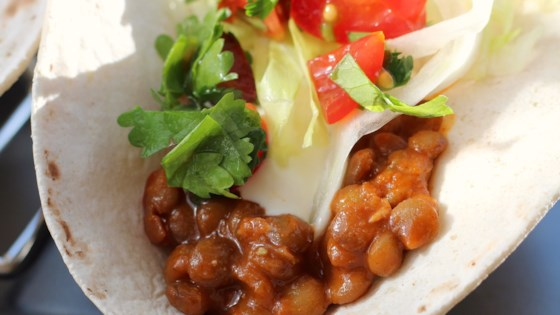 tasty lentil tacos review by pamela d apropos of nothing