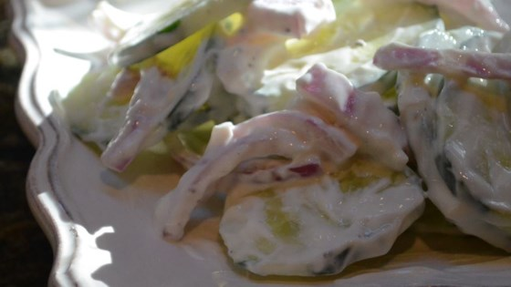 Photo of Simple Cucumber Salad by penny