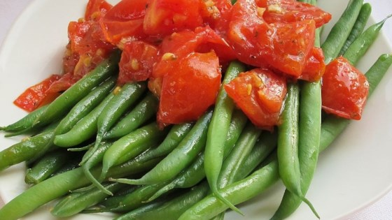 Photo of Green Beans with Cherry Tomatoes by STARNETSA