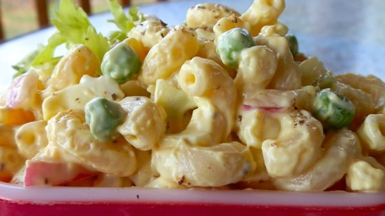 Lower Fat Amish Macaroni Salad
