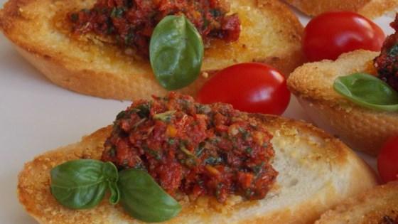 Sun Dried Tomato Pesto (no nuts)