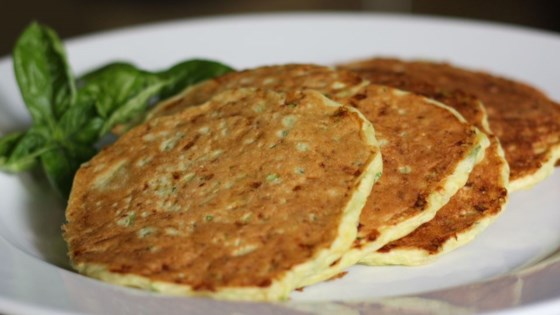 Photo of Zucchini Cheddar Pancakes by Tricia Spooner