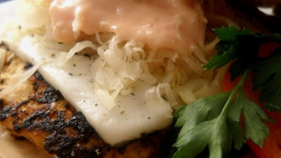 Photo of Turkey Reuben Burgers by candace