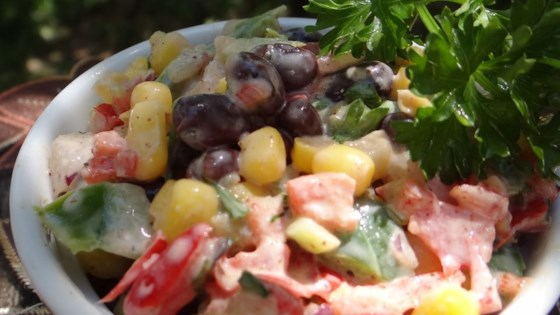 Photo of Amy's Creamy Black Bean Corn Salsa by Amy Rini Cormier