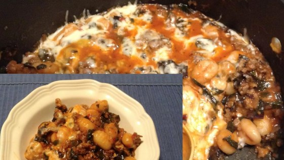 italian sausage and gnocchi skillet review by manella