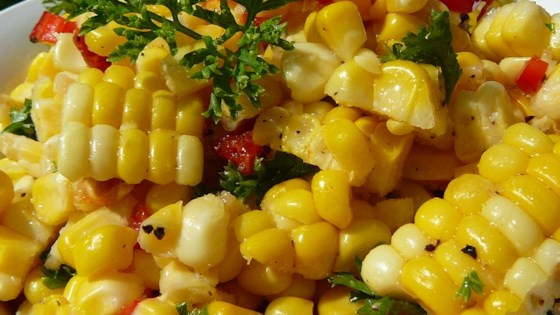 Image result for Salad and Corn on the Cob