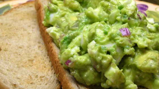 Photo of Avocado Egg Salad by ANGELAANDJAKERS