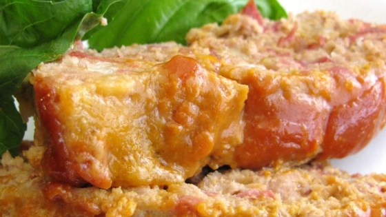 Photo of Turkey Cheeseburger Meatloaf by Laura