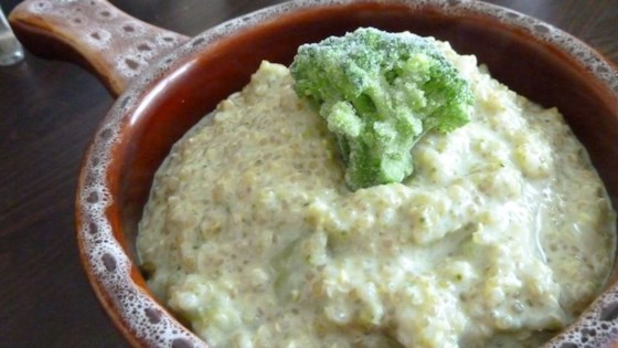 Photo of Easy Broccoli Quinoa Soup by mrs.embee