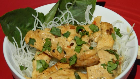 Photo of Thai-Style Chicken with Noodles by Eleanor Bell