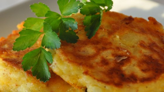 Photo of Cheesy Potato Pancakes by Charlene Luzum