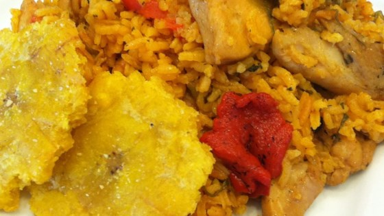 Photo of Josephine's Puerto Rican Chicken and Rice by Linda Adams