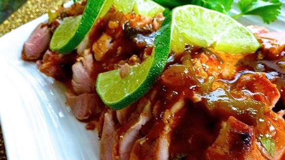 Photo of Tequila-Lime Pork Tenderloin by celeste