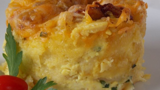 Cheddar Pudding Recipe