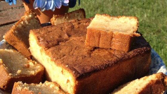 Photo of Moist Peach Pound Cake by OODLES_OR
