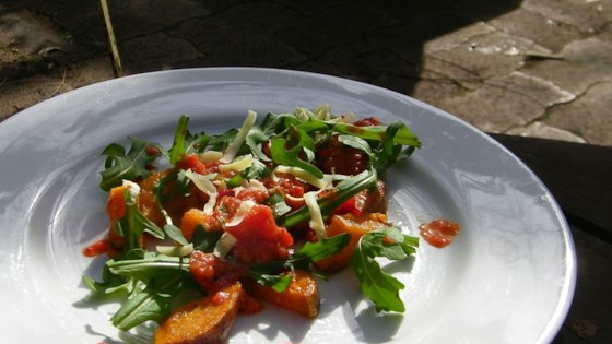 Photo of Roasted Sweet Potato and Rocket Salad by Navy S.