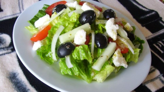 Photo of Greek Salad, The Best! by Carol Amos