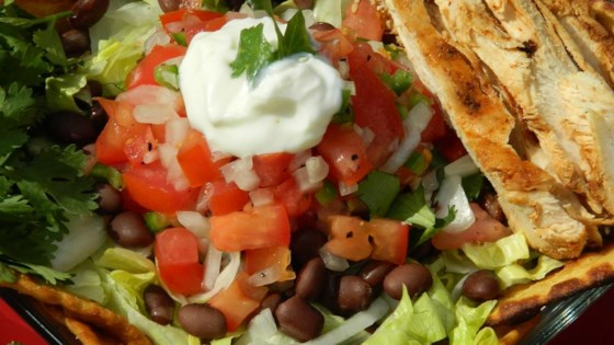 Photo of Grilled Chicken Taco Salad by MTCHYG