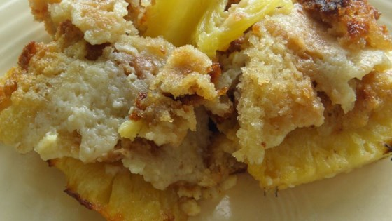 Photo of Baked Pineapple Side Dish by Betty Harvey