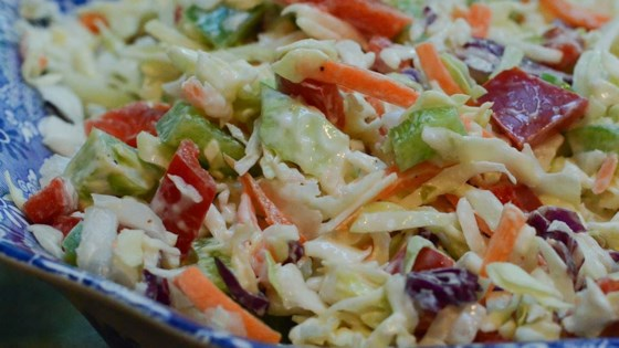 California Coleslaw Recipe