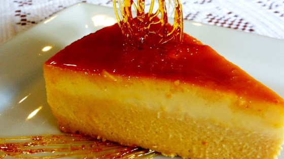 Photo of Mango Pudding (Flan de Mango) by BAKERSUNLIMITED