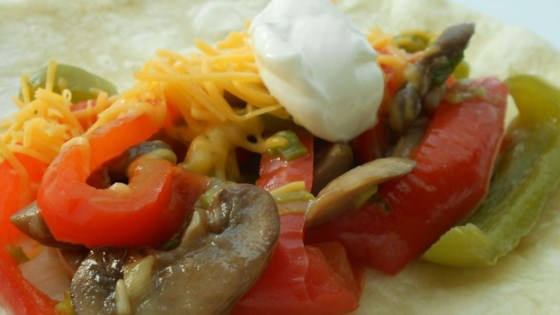 Photo of Veggie Fajitas by Kim