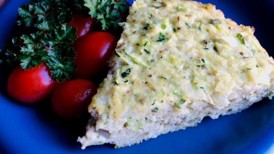 baked italian egg zucchini and scallion frittata review by bibi