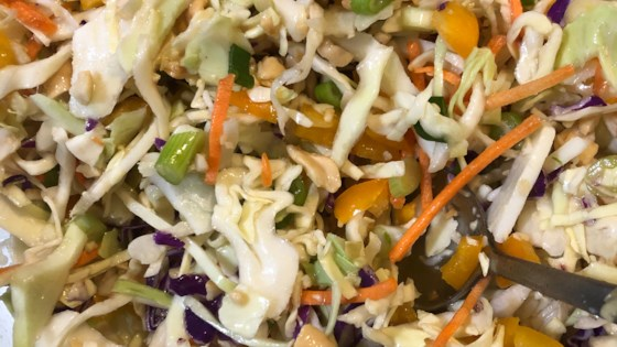 quick and easy thai style coleslaw review by gail a guild