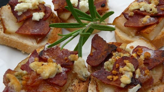 Photo of Blue Cheese, Bacon and Pear Brunch Sandwiches by HARLEAGHSGIRL
