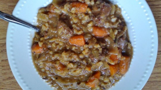 Photo of Barley Beef Stew by Kat O Connell