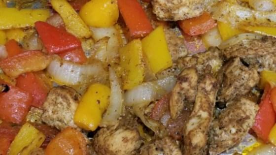 sheet pan chicken fajitas review by donna cuches affatigato