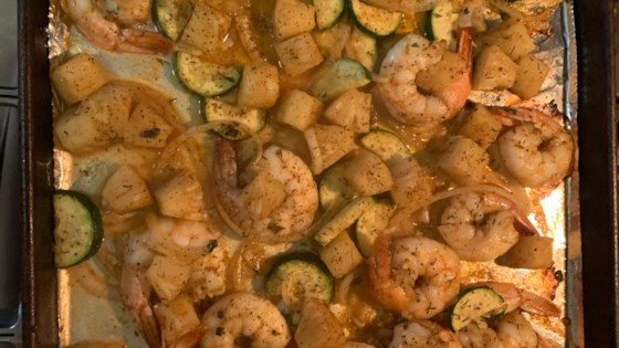 sweet and spicy jerk shrimp review by casibk