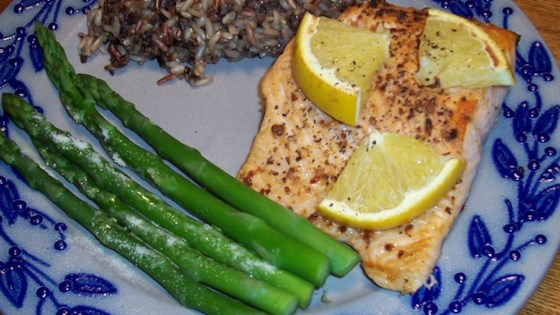 Photo of Citrus Broiled Alaska Salmon by Christine L.