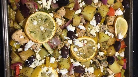 mediterranean chicken sheet pan dinner review by keith