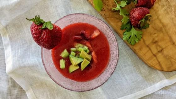 strawberry gazpacho review by rita