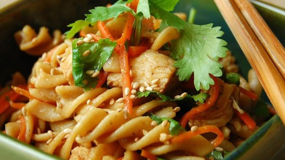 Photo of Sesame Pasta Chicken Salad by ohines
