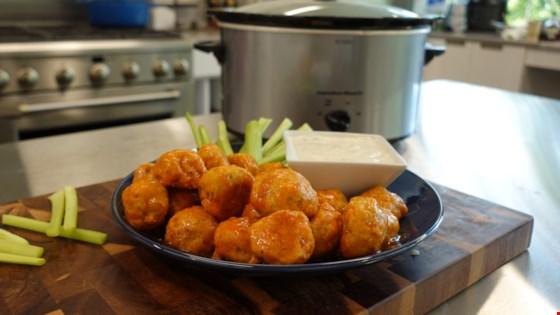 Easy Buffalo Chicken Meatballs Recipe