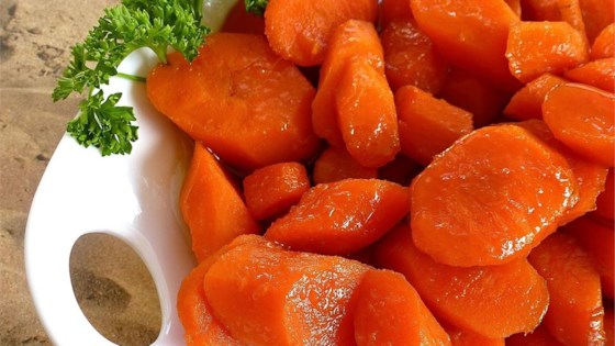 Photo of Bourbon Glazed Carrots by Flipper