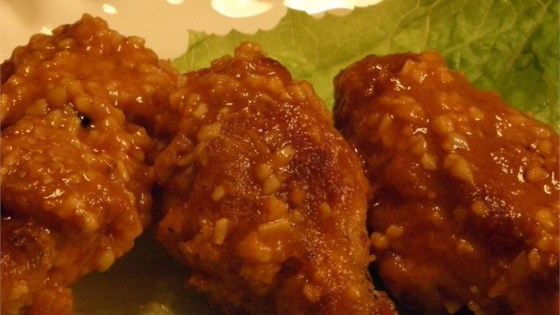 Photo of Healthier Restaurant-Style Buffalo Chicken Wings by MakeItHealthy