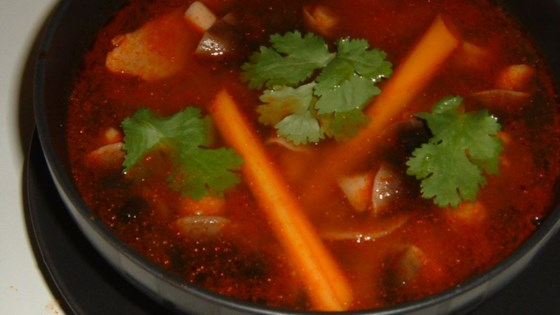 Photo of Tom Yum Koong Soup by Michelle Chen