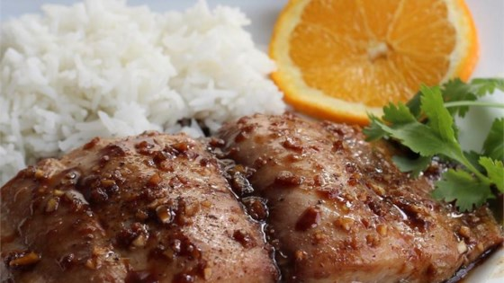 Photo of Ginger Glazed Mahi Mahi by DECODIANA