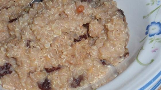 Photo of Quinoa Prune Breakfast Porridge by Always Cooking Up Something