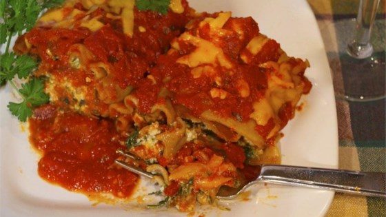 Photo of Lighter Simple Lasagna Roll Ups by Terri1984