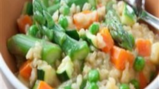Brown Rice and Vegetable Risotto