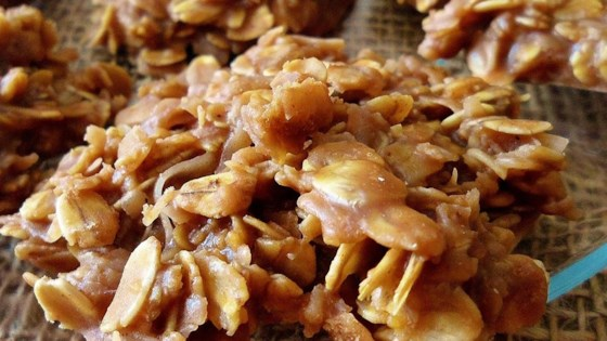 Photo of No Bake Choco-Peanut-Oatmeal Cookies by Pat K.